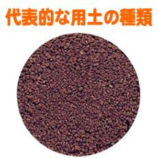 代表的な用土の種類